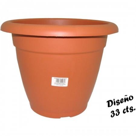 MACETERO 33cm HIDALGO TERRACOTA