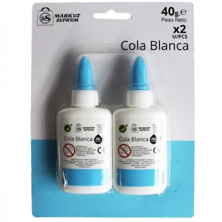 COLA BLANCA 40g LOT 2